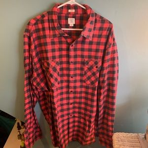 J.Crew Factory Traditional Buffalo Check Flannel